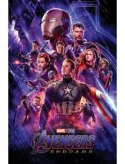 Avengers Endgame Journeys End - plakat