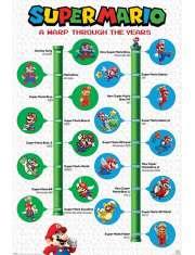 Super Mario na Przestrzeni Lat - plakat