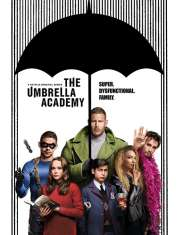 The Umbrella Academy Dysfunkcyjna Rodzina - plakat