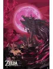 The Legend Of Zelda Breath Of The Wild Ganon Blood Moon - plakat