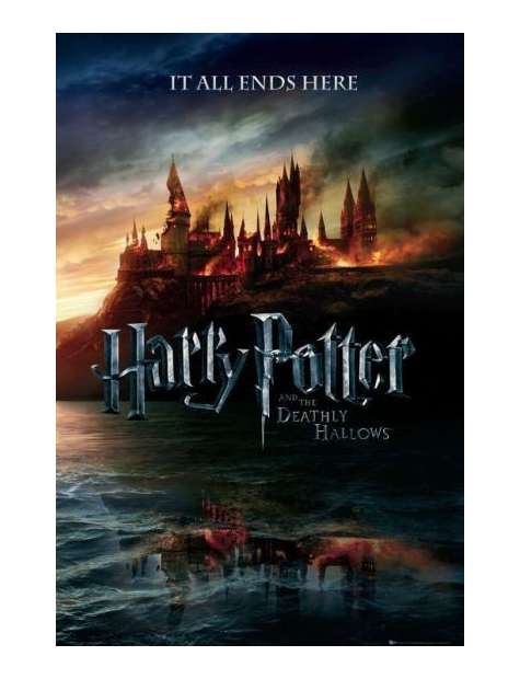 Harry Potter 7 teaser - plakat