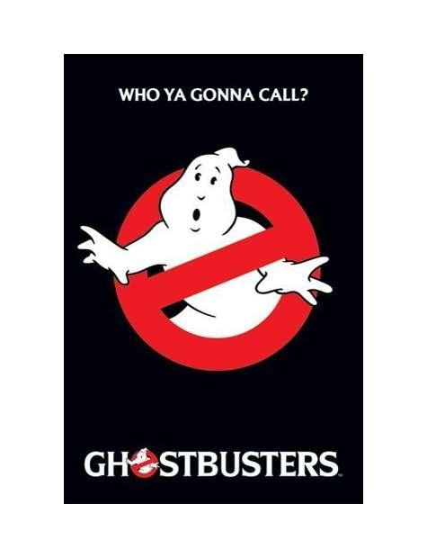 Pogromcy Duchów - Ghostbusters - logo - plakat