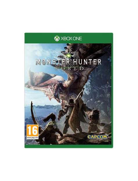 Monster Hunter World Xone Używana-41059