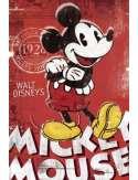 Myszka Miki - Mickey Mouse Red - plakat