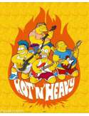 The Simpsons - hot and heavy - Simpsonowie - plakat