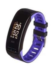 Smartband opaska sportowa Garett Fit 23 GPS czarno-fioletowy