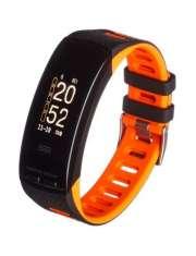 Smartband opaska sportowa Garett Fit 23 GPS czarno-pomarańczowy