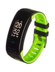 Smartband opaska sportowa Garett Fit 23 GPS czarno-zielony