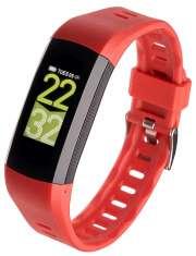 Smartband opaska sportowa Garett Fit 26 GPS czerwony