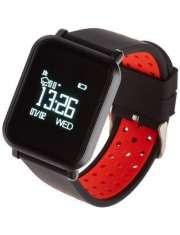 Smartwatch Garett Sport 17 czarno-czerwony
