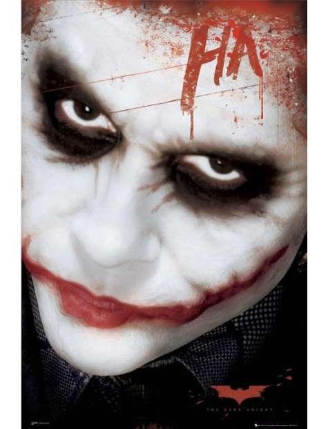 Batman Mroczny Rycerz - Joker ha - plakat