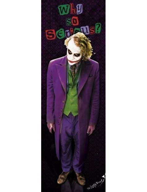 Batman Mroczny Rycerz Joker solo - plakat