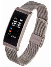 Smartwatch Garett Women Tina srebrny stalowy