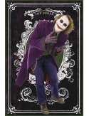 Batman Mroczny Rycerz Joker Karty - plakat