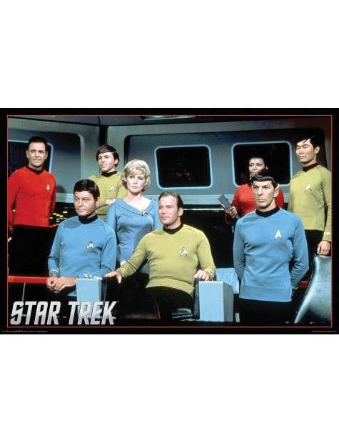 Star Trek classic cast - plakat