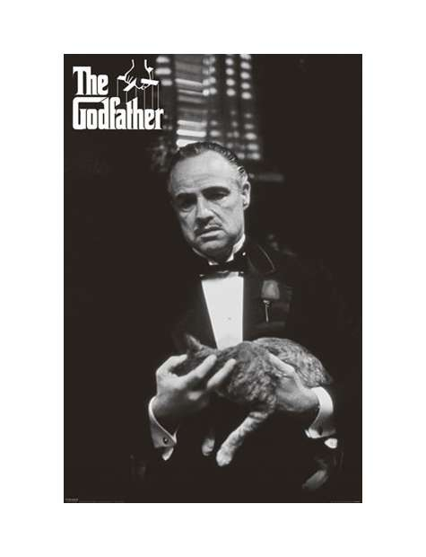 Ojciec Chrzestny - Don Vito - plakat