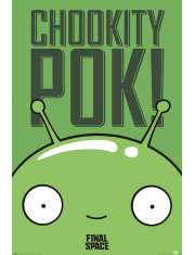 Final Space Mooncake Chookity Pok - plakat