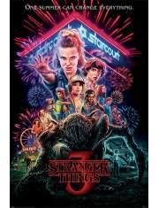 Stranger Things Lato 1985 - plakat