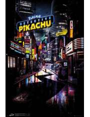 Pokemon Detektyw Pikachu Teaser - plakat