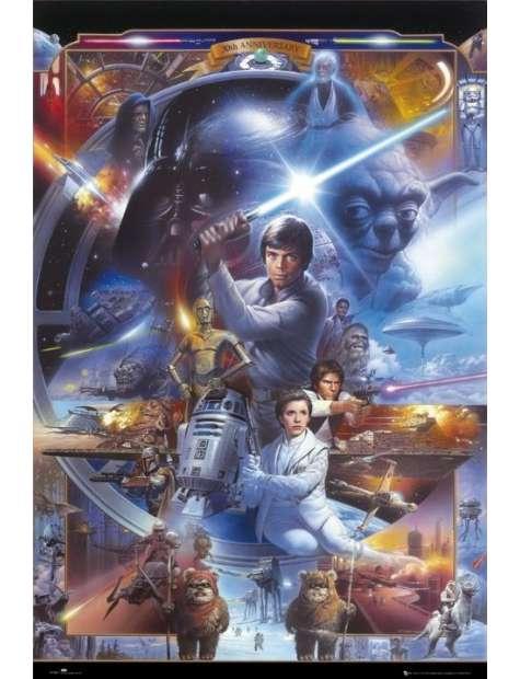Star Wars Gwiezdne Wojny 30 Rocznica - plakat
