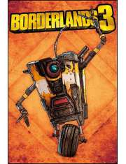 Borderlands 3 Claptrap - plakat