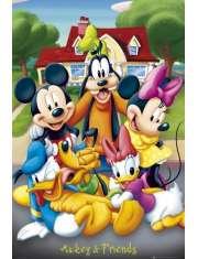Myszka Miki i Przyjaciele - Disney Mickey Mouse - plakat