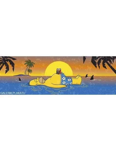 The Simpsons - Homer Shark - Simpsonowie - plakat