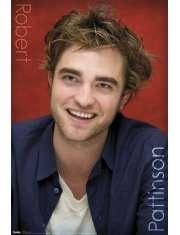 Robert Pattinson Uśmiech - Zmierzch - plakat