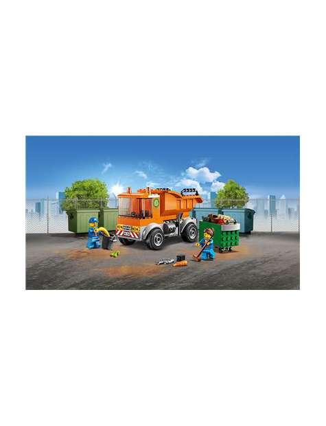 Lego 60220: Śmieciarka