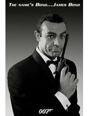 My Name is Bond James Bond Sean Connery - plakat