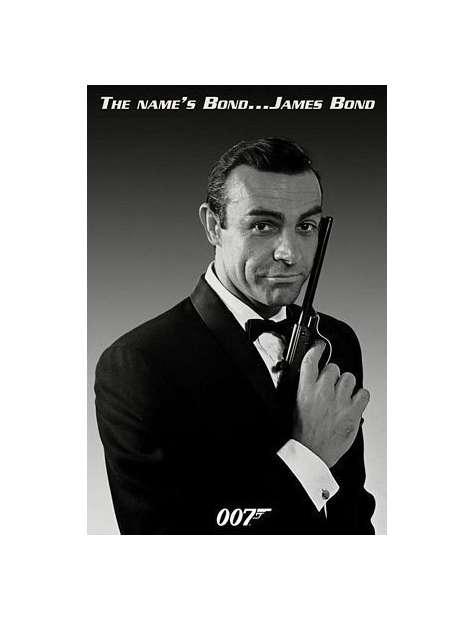 My Name is Bond James Bond - plakat
