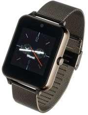 Smartwatch Garett G25 czarny stalowy