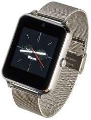 Smartwatch Garett G25 Plus srebrny stalowy