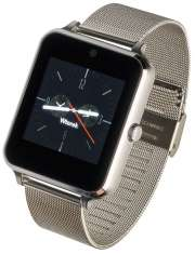 Smartwatch Garett G25 srebrny stalowy
