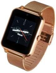 Smartwatch Garett G25 Plus złoty stalowy