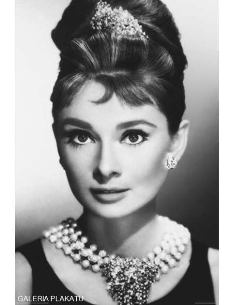 Audrey Hepburn Face - plakat