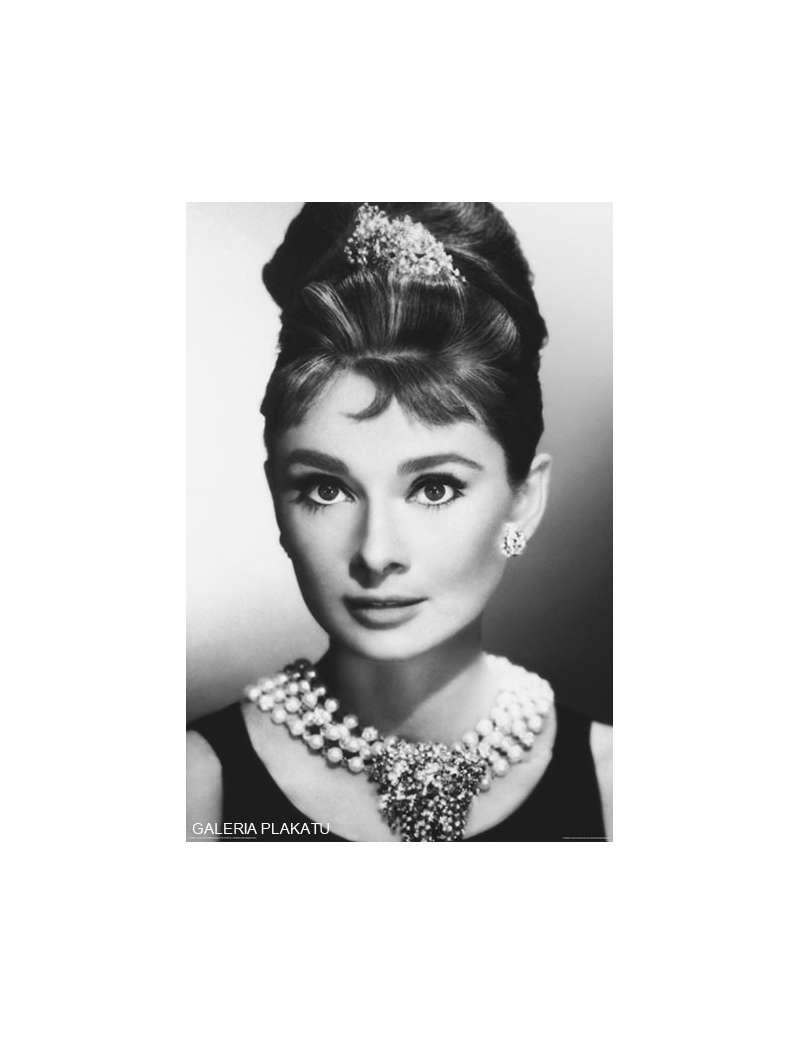Audrey Hepburn Face Plakat