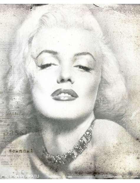 Marilyn Monroe Teksty - plakat