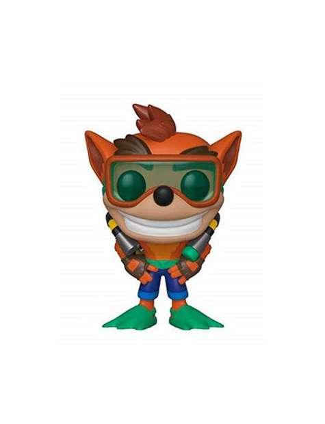 Figurka FUNKY POP - Crash Bandicoot with scuba gear