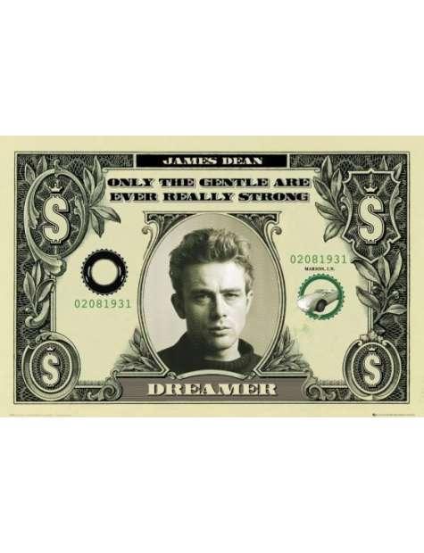 James Dean Dolar - plakat