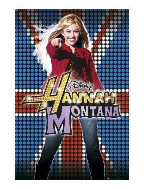 Miley Cyrus Hannah Montana uk - plakat