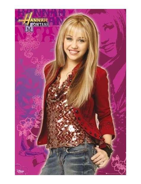Miley Cyrus Hannah Montana - plakat