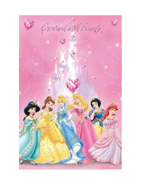 Disney Princess Księżniczki w Koronach - plakat