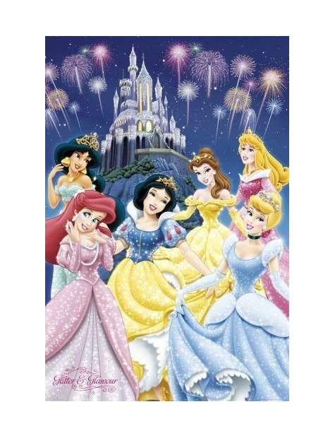 Disney Princess Modne Księżniczki - plakat