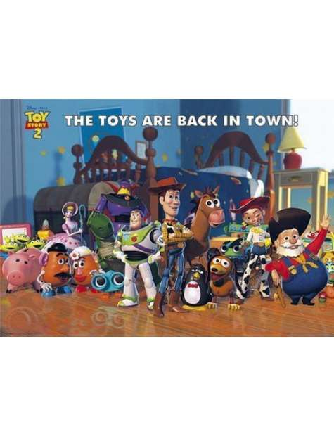 Toy Story 2 Bohaterowie - plakat