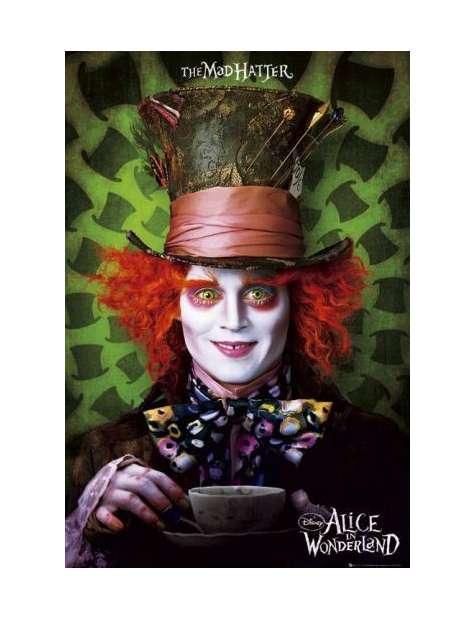 Alicja w Krainie Czarów Kapelusznik - plakat