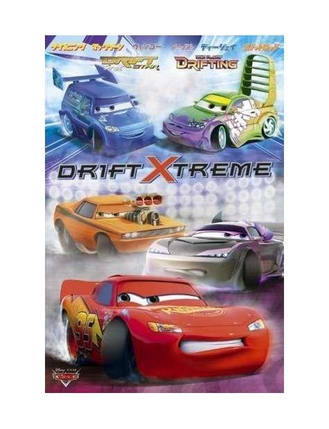 Auta 2 Disney Cars 2 Ekstremalny Drift - plakat