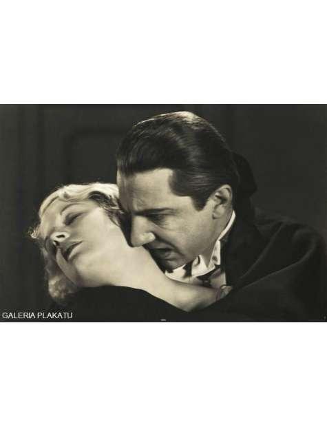 Bela Lugosi - Drakula - retro plakat