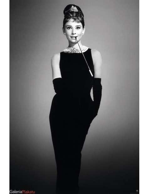 Audrey Hepburn Cigarello - plakat