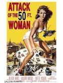 Attack of the 50ft Woman - Atak kobiety o 50 stopach Wzrostu - retro plakat